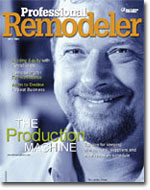 Tim Lassiter featured on the cover of Professional Remodeler Magazine