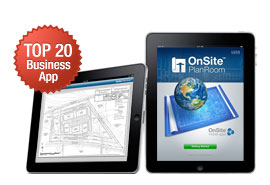 OnSite PlanRoom for iPad Premieres in Top 20 Business Apps